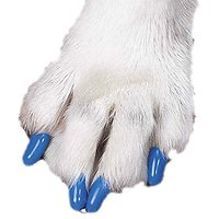 Futaba Pet Nail Cover - Blue - 20Pcs