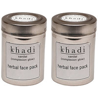 Kangra Valley Khadi Sandal Face Pack (Pack Of 2)