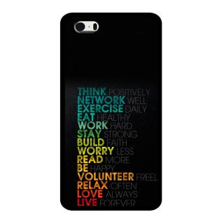 Slr Back Case For Apple Iphone 5S  SLRIP5S2D0475