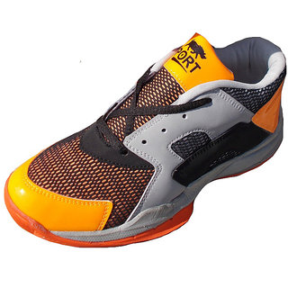 Port Hi-Tec Victor Women Black Badminton Spoers Shoes