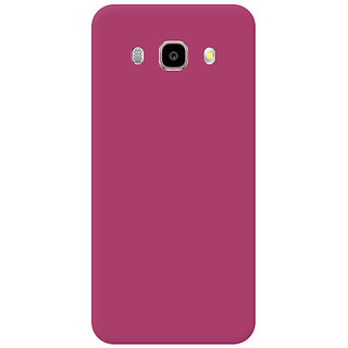Garmor Plastic Back Cover For Samsung Galaxy J7 2016 - Pink