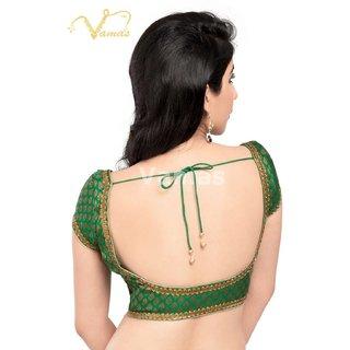 VAMAS DESIGNER NEW BLOUSES-Green-VDBMX201968-VQ-Net