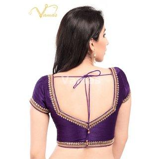 VAMAS DESIGNER NEW BLOUSES-Purple-VDBMX2341022-VQ-Net