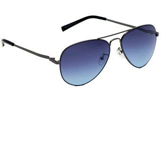 6by6 Black Aviator Unisex Sunglasses
