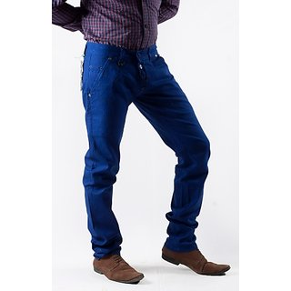 Men's Blue Spy Chinos Pant