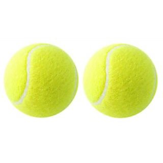 Yellow cricket Tennis Ball - Pack of 2