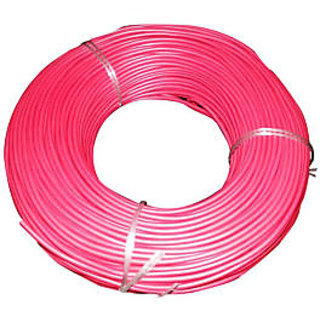 NATIONAL WIRE 0.75 MM WIRE  RED CABLES