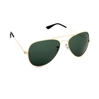 Royal Son Green Uv Protection Unisex Aviator Sunglass