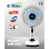 SOXIN Rechargeable Emergency 12inch Fan with 10 LED Lights (QM-851)