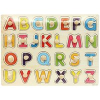 ABC Wooden Pegged puzzles