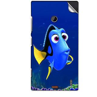 INSTYLER Mobile Sticker For Nokia Lumia 525 sticker529