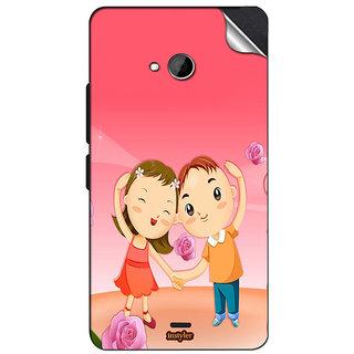 INSTYLER Mobile Sticker For Nokia Lumia 535 sticker1016
