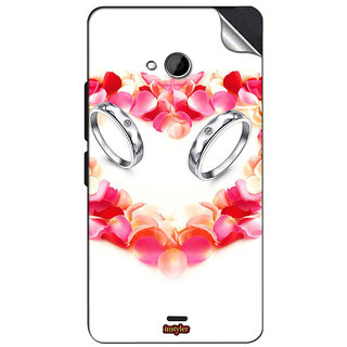 INSTYLER Mobile Sticker For Nokia Lumia 535 sticker1072