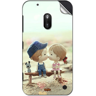 INSTYLER Mobile Sticker For Nokia Lumia 620 sticker1514