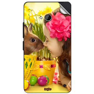 INSTYLER Mobile Sticker For Nokia Lumia 550 sticker1347