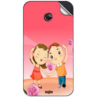 INSTYLER Mobile Sticker For Nokia Lumia 630 sticker1816