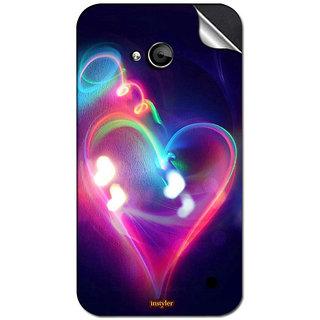 INSTYLER Mobile Sticker For Nokia Lumia 640 sticker2198