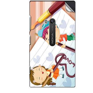 INSTYLER Mobile Sticker For Nokia Lumia 900 sticker3329