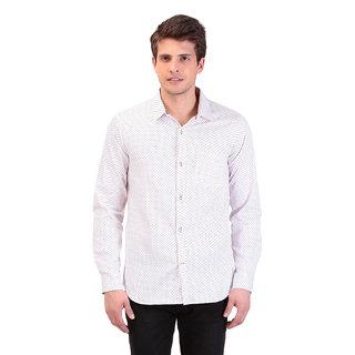 TAG 7 White Designer Shirts For Men