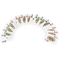 PLASTIC PLAYING CARDS ( PACK OF 4 )