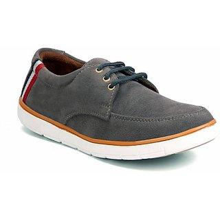 Molessi Grey Suede Casual Shoes