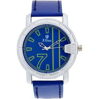 Elios Aspire Series Analogue Blue Dial Mens Watch EWM0031
