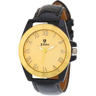 Elios Original Golden Dial Mens Analogue Watch EWM0034