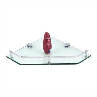 Kamal Glass Shelf Kubix - Corner 12 Inch