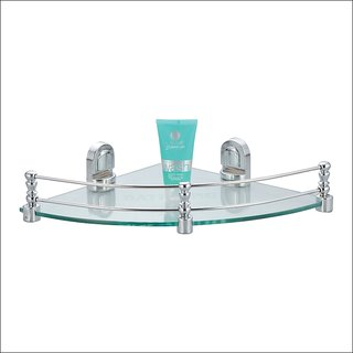 Kamal Glass Shelf Eco - Corner 12 Inch