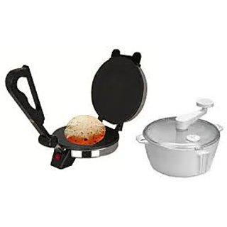 Electric Roti Maker Chapati Machine Papad Roti Phulka  free dough maker combo available at ShopClues for Rs.990