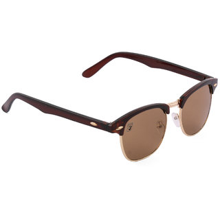 4a606afad4 Royal Son Brown UV Protection Clubmaster Sunglasses available at ShopClues  for Rs.279