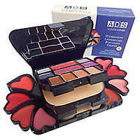 FOLDABLE ADS BRANDED 4 IN 1 FASHIONABLE MAKEUP KIT A3746-2