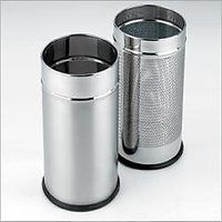 "King International - Office & Bathroom Dustbin Set - 8 Ltr & 5 Ltr (Set Of 2 Pc) (8""X12"" & 7""X10"")"