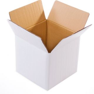 White Packaging Box/Corrugated Box  W1039(16x16x16 inches)(Pack of 25)