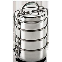 King International - Wire Tiffin Box/ Lunch Box 10Cm (4 Tier)
