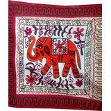 Kacchi Handmade Pillow Covers - 5 Pcs (Handmade Embroidered)