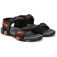 Admiral MenS Black,Grey,Orange Casual Floaters