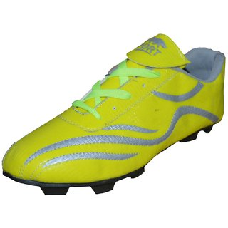 Port Mens Lime Spectra Football Stud Shoe