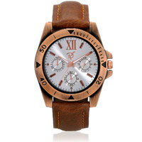 Rico Sordi mens leather watch(L75)