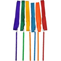 GSI Gymnastic Wand for Aerobics Satin Ribbon as Dancing Prop