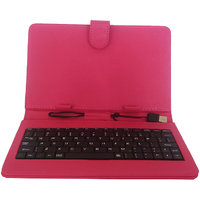 Callmate Keybord Leather Case/Cover For All 7 Inches Tablets With Free Screen Guard - 2900226
