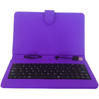 Callmate Keybord Leather Case/Cover For All 7 Inches Tablets With Free Screen Guard - 2900224