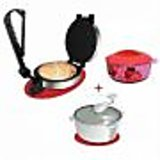 Electric Roti Maker Atta Maker Hotpot (combo) available at ShopClues for Rs.1249