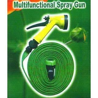 Multipurpose Use Wash Pipe Flat Hose Water Gun Spray