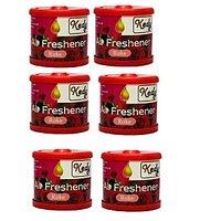 Kedy Air Freshener Car Perfume Pack Of 6 - 94835330