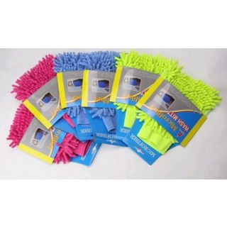 Set of 12 Wholesale Microfiber Cleaning Gloves