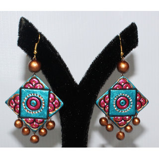 TERRACOTTA JEWELLERY-EARRING CWG EFFINGO