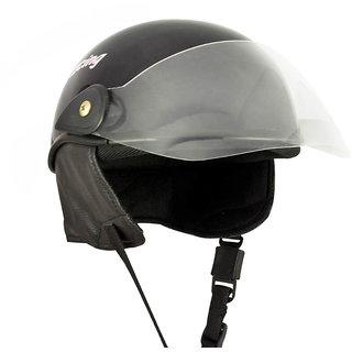 Racing Master Scooty Helmet (Glossy Black)
