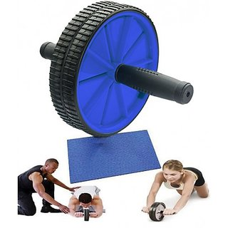 Iso Solid Abs Abdominal Exercise Wheel Gym Fitness Machine Body Strength Trainin