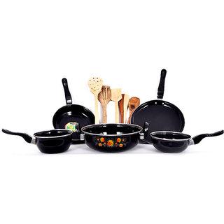 DCH 5 Pieces Hard Coat Cookware Set + Skimmer